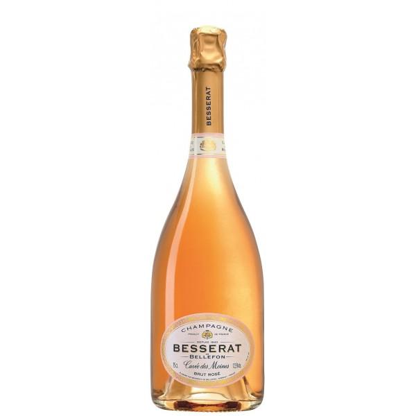Шампанское Brut Rose Cuvee des Moines Besserat de Bellefon 0.75 л