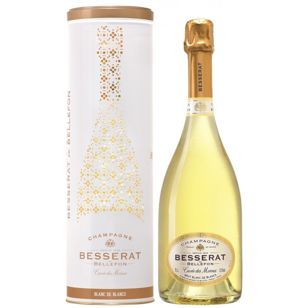 Шампанское Brut Blanc de Blancs Cuvee des Moines Besserat de Bellefon 0.75 л
