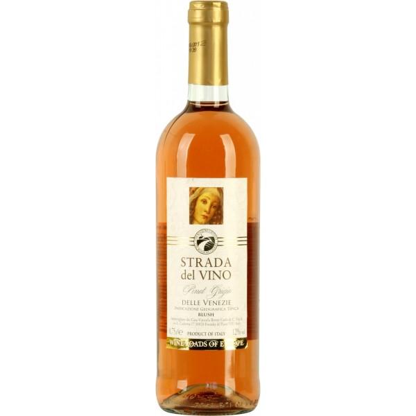 Вино Pinot Grigio delle Venezie Blush Strada del Vino 0.75 л
